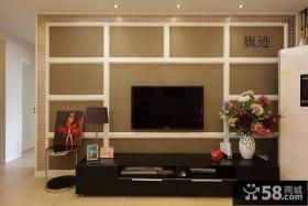 硅藻泥电视背景墙装修效果图大全图片