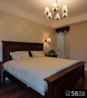 田园欧式风格卧室装修图片欣赏