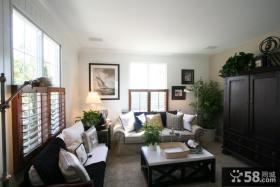 美式风格别墅小客厅装修图片