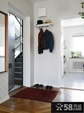 简欧风格进门玄关装修效果图片