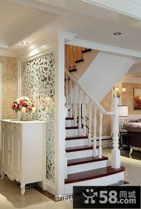 欧式风格楼梯设计效果图