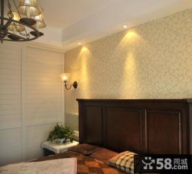 简约美式风格小户型客厅茶几图片