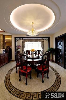 古典大器中式餐厅设计