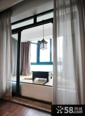 古典中式风格室内 飘窗设计效果图片