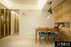 120平米自然风简约公寓室内设计图片