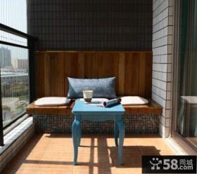 东南亚风格阳台图片大全