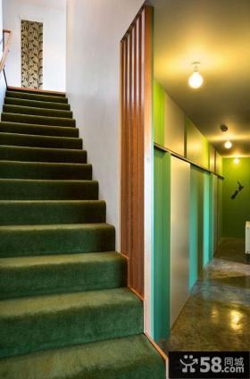 现代装修设计楼梯图片大全欣赏
