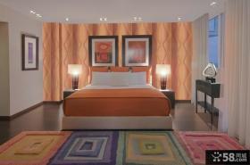 现代简约式装修风格客厅沙发背景墙图片设计