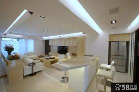日式家装客厅电视背景墙设计图片大全