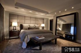 130㎡欧式现代风格卧室装修效果图大全2014图片