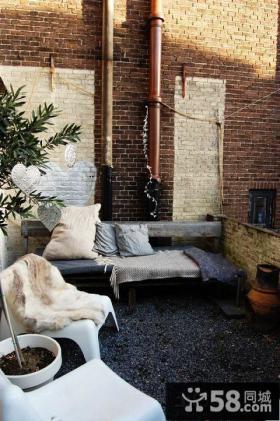 复古设计室内阳台图片