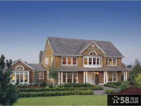 农村二层小别墅设计效果图