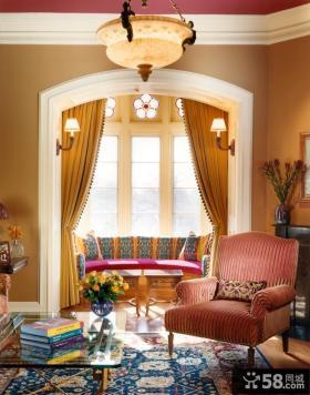 客厅吊顶装修效果图 客厅阳台装修效果图