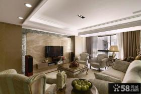 优质现代风格三室一厅室内设计图片