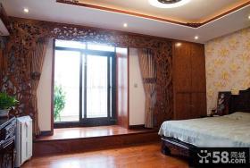 古典中式卧室布置