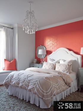 简欧风格室内设计卧室效果图欣赏大全