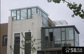 顶楼露台阳光房设计图