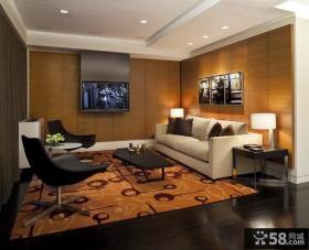 经典的后现代三室两厅装修