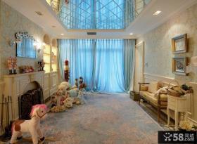 欧式新古典别墅楼房室内设计图片
