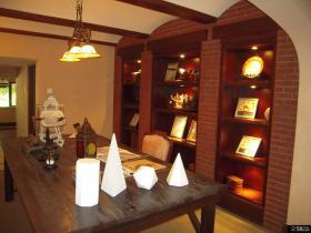 美式风格三居室餐厅装修效果图