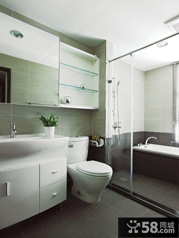2015老房子现代风格卫生间装修效果图