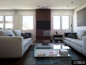 大气简约风格一居室设计