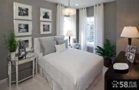 简欧风格小户型卧室装修效果图大全2014图片
