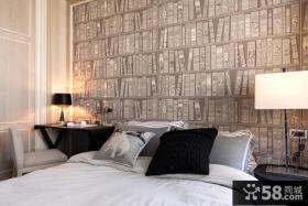 现代新古典卧室床头灯具图片