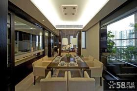 豪华简中式家居餐厅设计