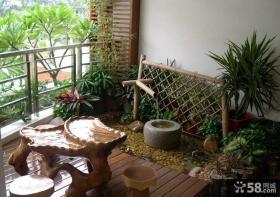 家庭入户花园设计效果图