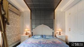 复古欧式卧室布置效果图