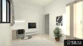 北欧简约电视背景墙设计