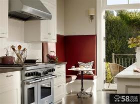 宜家风格阳台出厨房装修效果图