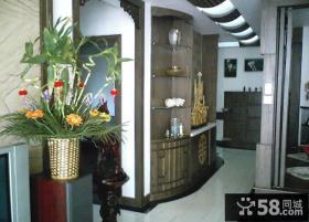 客厅玄关装饰图片