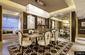 美式风格餐厅装修效果图大全欣赏