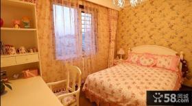 温馨儿童卧室壁纸装修效果图欣赏