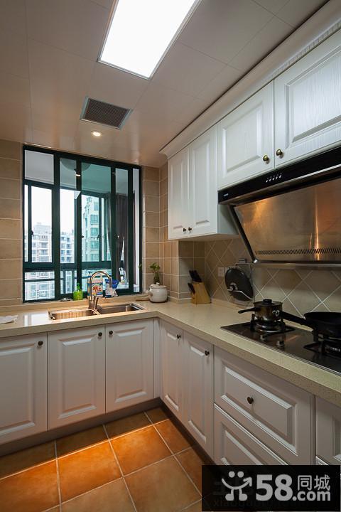 简欧式厨房装修设计效果图