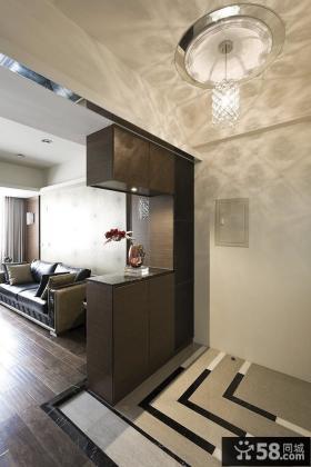 现代风格室内隔断设计案例