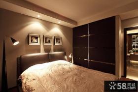 简约卧室床头装饰画图片欣赏