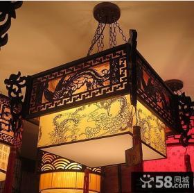 古典中式吊灯图片欣赏