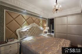 欧式风格主卧室装修图片