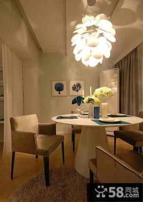 温暖清新住宅餐厅设计