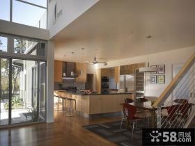 复式楼装修效果图 房子客厅装修效果图