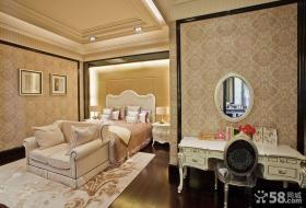 欧式风格高档装修卧室图片