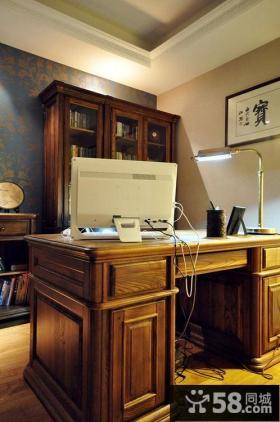 美式书房设计效果图欣赏大全