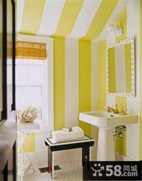 小复式现代风格厕所装修效果图