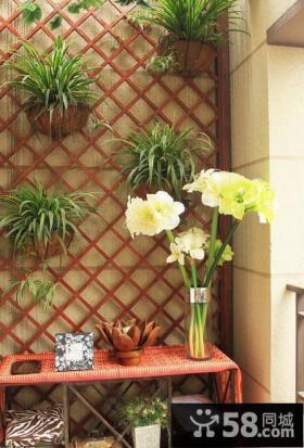 2013优质阳台花园设计效果图片