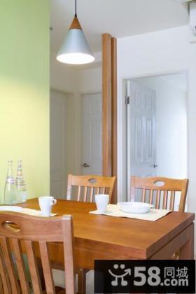 简约风格家庭二居室装修效果图