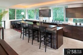 简欧风格三房两厅厨房装修效果图大全2014图片