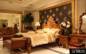卧室欧式家具设计效果图